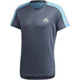 adidas OWN The Run T-shirt Homme, legacy blue/reflective silver